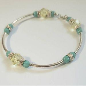 3 for $20 - Citrine Swarovski Bracelet